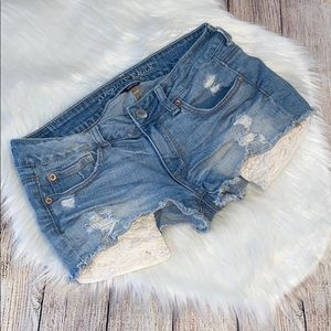 American Eagle outfitters shortie shorts size 6